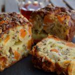 Plum-bread con zucca e noci
