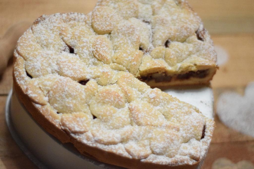 Crostata morbida cacao e pere