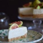 Cheesecake glutenfree al miele di sulla e fichi