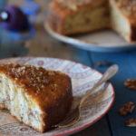 Torta greca con noci e sciroppo al Passito